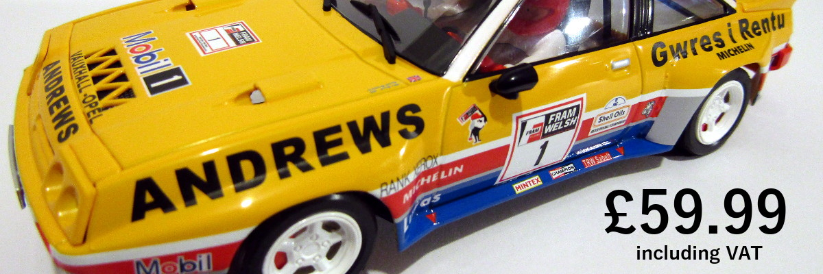 Slot Car Supplies | NSR, Slot it, Sideways, Fly, Thunderslot