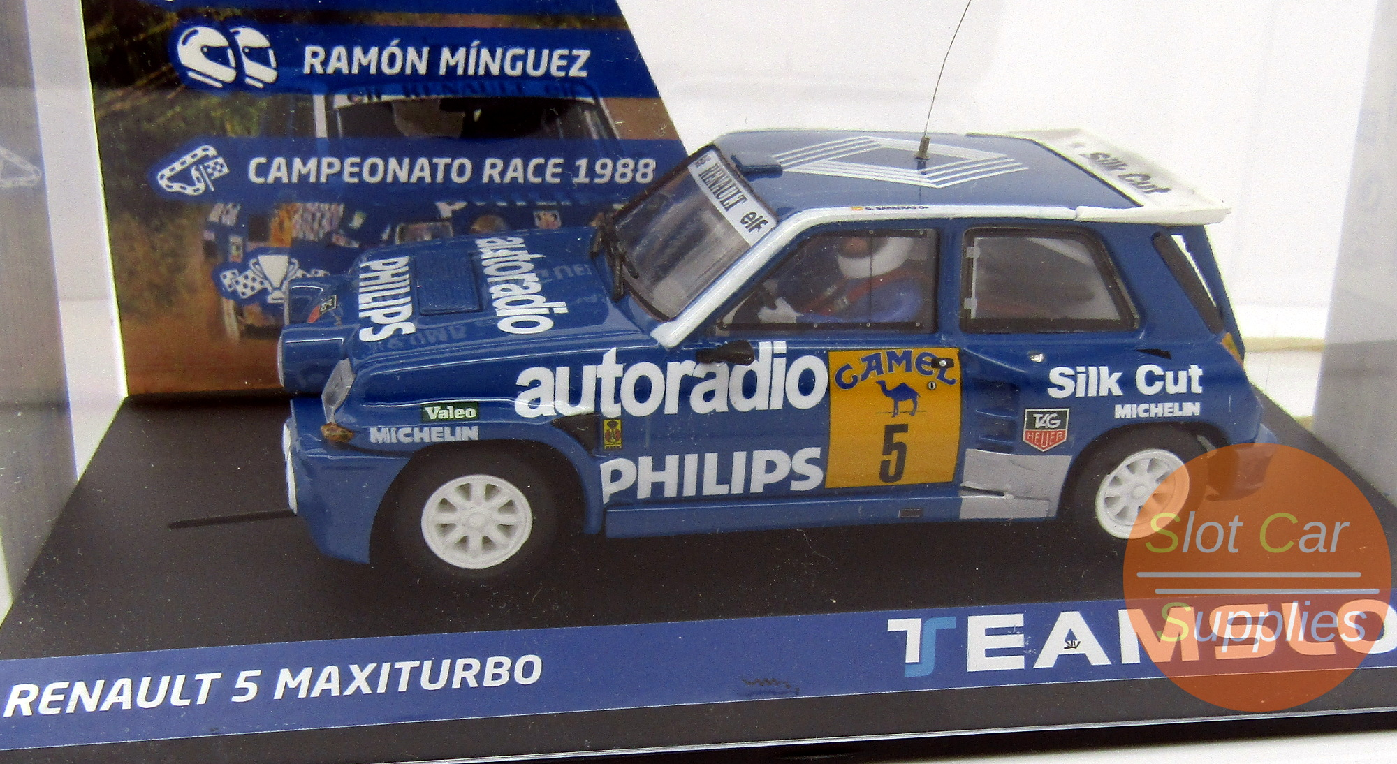 Renault 5 Turbo No 5 Rally Race 1988 Teamslot 12108 Slot Car Supplies